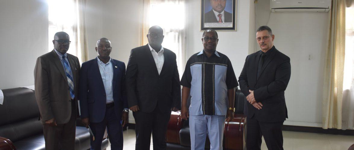 Canadian NGO ZOOM DPSD Received by Ambassador Ezechiel NIBIGIRA